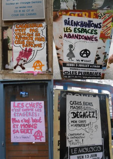 affiches - carnaval 2014 besancon
